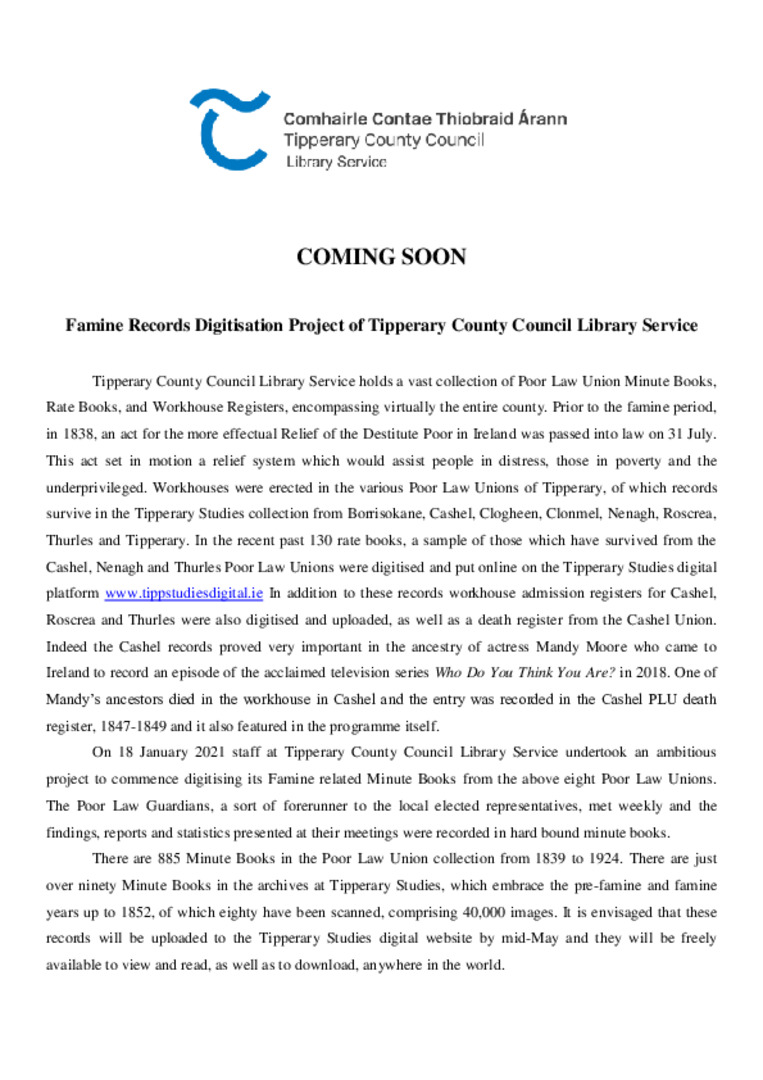 Tipperary Co Council Library Service Famine Records.pdf