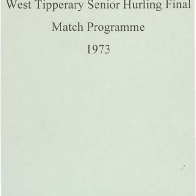 1973 West Tipperary Senior Hurling Final.pdf