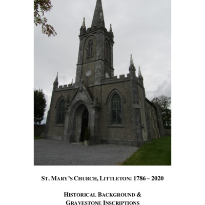 Memorials and history of St Mary's Church, Littleton.pdf