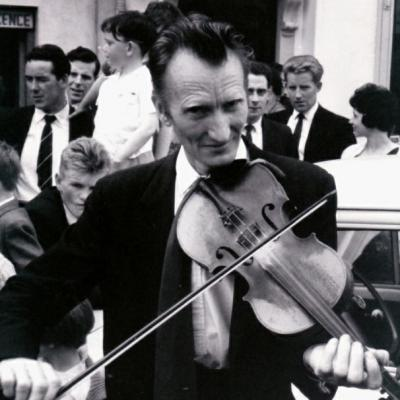 Ned Looby of Templetuohy at Tipperary Fleadh Cheoil Roscrea in 1964